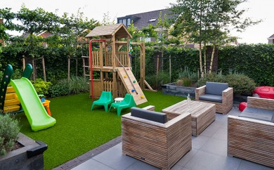 Hout beton schutting: tuin inrichten online